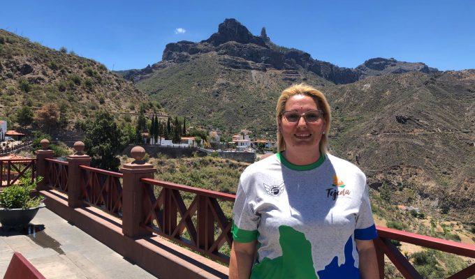"""Verónica Espino: """"La Circular de Tejeda es la segunda prueba en antigüedad de Canarias"""""""