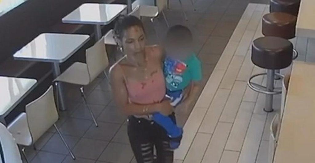 Maralyn Ramos fue detenida en los exteriores del restaurante| DA