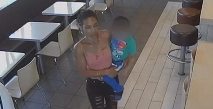 Trata de secuestrar a un niño en un McDonalds haciéndose pasar por su madre