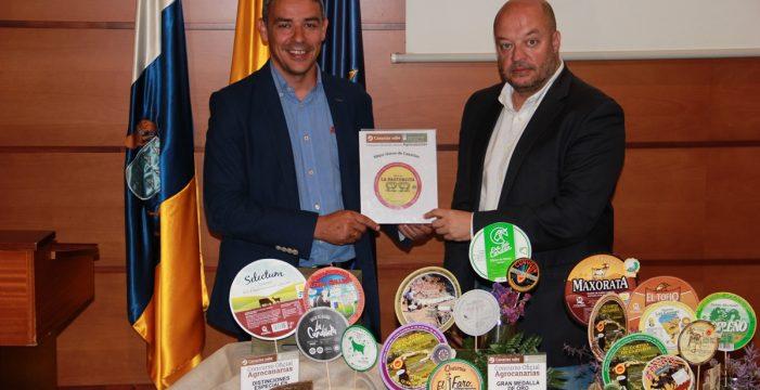 Este es el mejor queso de Canarias según el jurado de Agro Canarias