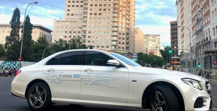 Mercedes Benz Clase E 300, versatilidad y máxima eficiencia con el híbrido enchufable diésel de Mercedes