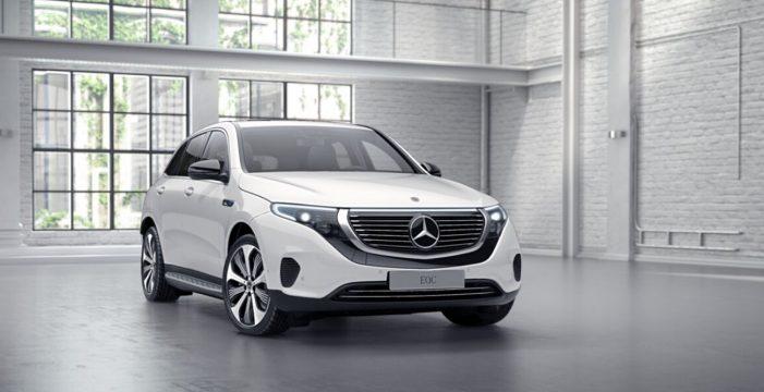 Mercedes-Benz presenta en Barcelona el primer modelo de su nueva marca de vehículos 100% eléctricos