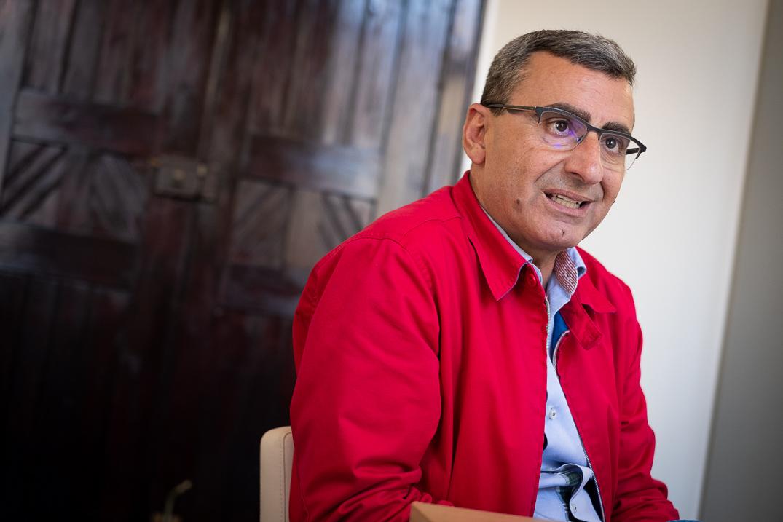 Javier Abreu. Fran Pallero