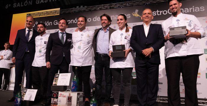 Gonzalo Calzadilla gana el 15º Campeonato Absoluto de Cocineros de Gastrocanarias