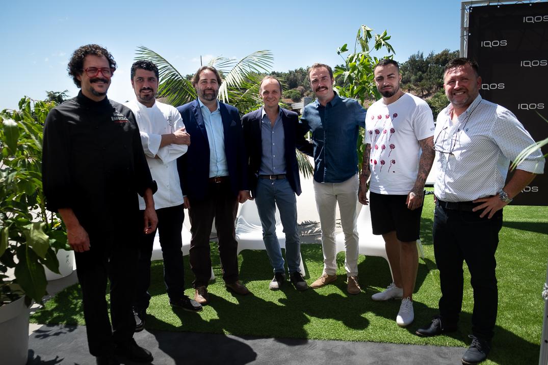 DIARIO DE AVISOS y Philip Morris Canarias presentaron ayer, en el marco del 6º Salón Gastronómico de Canarias. DA