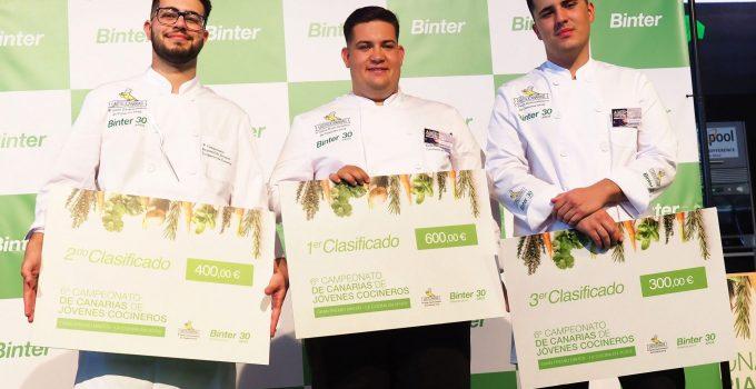 Daniel Tejera Pérez gana el sexto Campeonato de Jóvenes Cocineros