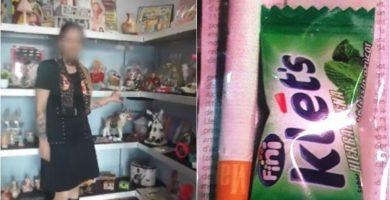 Cigarro, 'choco', 'papelillo' y un chicle: el contenido de las bolsitas que vendía Verónica a los menores