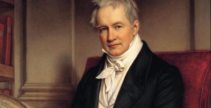 Alexander von Humboldt y su viaje a Canarias