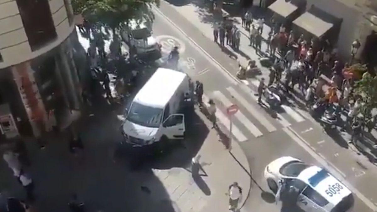 Robo en la calle Mayor de Madrid. El Español