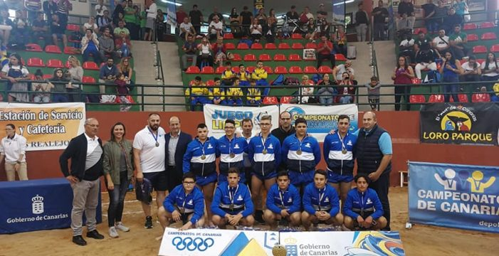 La Palma brilla en los Campeonatos de Canarias con el doblete alevín y el título infantil masculino