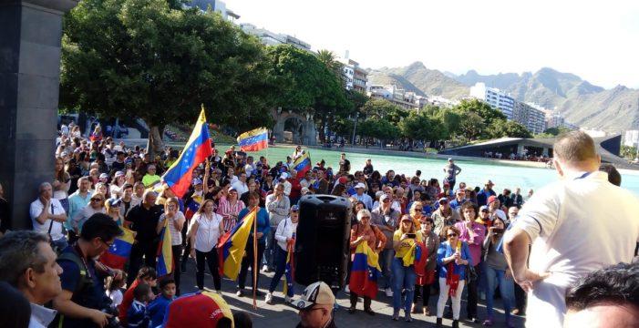 """Hay que librar la batalla"", dice en Santa Cruz Wilmer Guaidó, padre de Juan Guaidó"