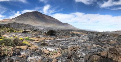 El 'timelapse' que muestra cómo se originó el incendio en el Teide