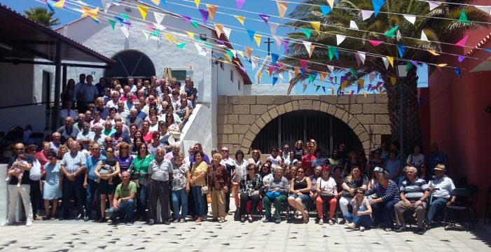 Fasnia conmemora el 50 aniversario de la ermita en honor a San Isidro Labrador