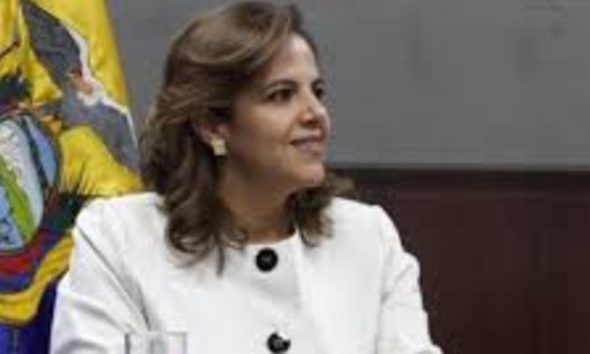 María Paula Romo. Twitter