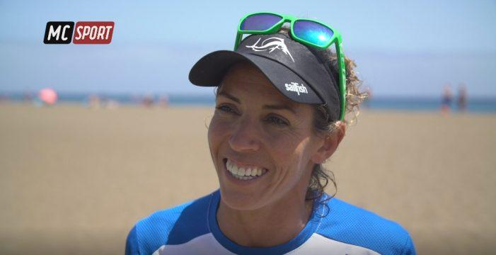 Delioma González, toda una fuera de serie del triatlón canario