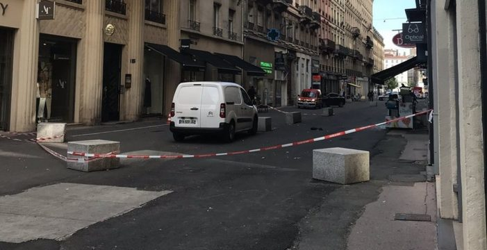 Heridas ocho personas a causa de una explosión en el centro de Lyon