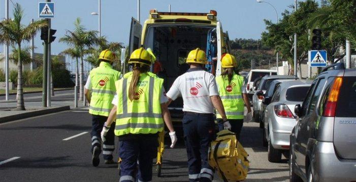 Tres heridos, uno de ellos menor, en un accidente de tráfico