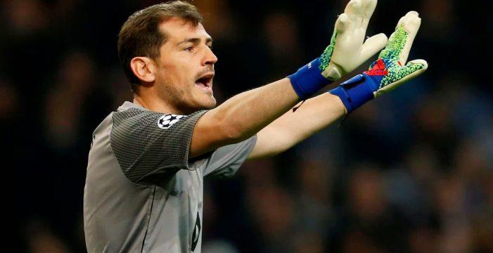 Iker Casillas sufre un infarto agudo de miocardio durante un entrenamiento
