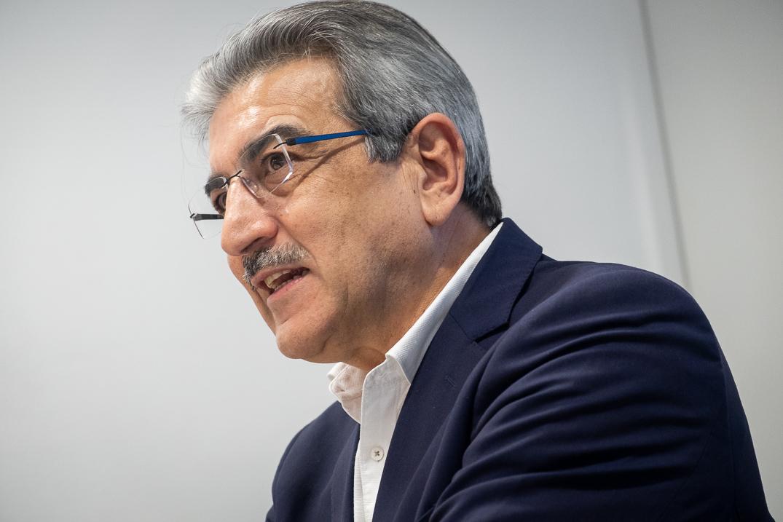 Román Rodríguez. Fran Pallero