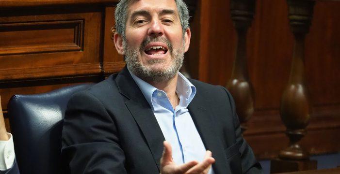 Fernando Clavijo también amenazó en 2016 con gastarse el superávit