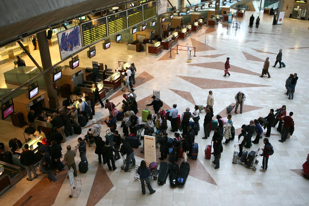 El aeropuerto de Los Rodeos saca un 8,26 de nota media en todos los servicios que ofrece. Sergio Méndez
