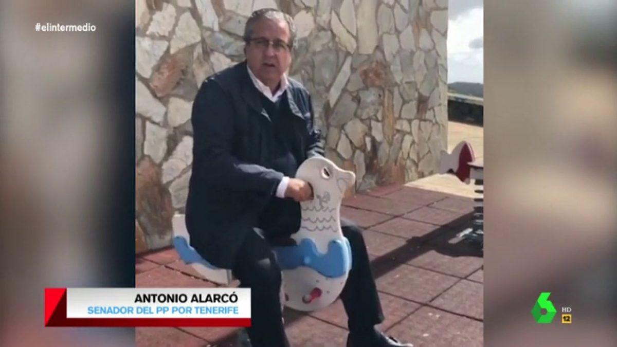El vídeo de Alarcó con el caballito es de 2016, pero ha vuelto a ser noticia en toda España. DA