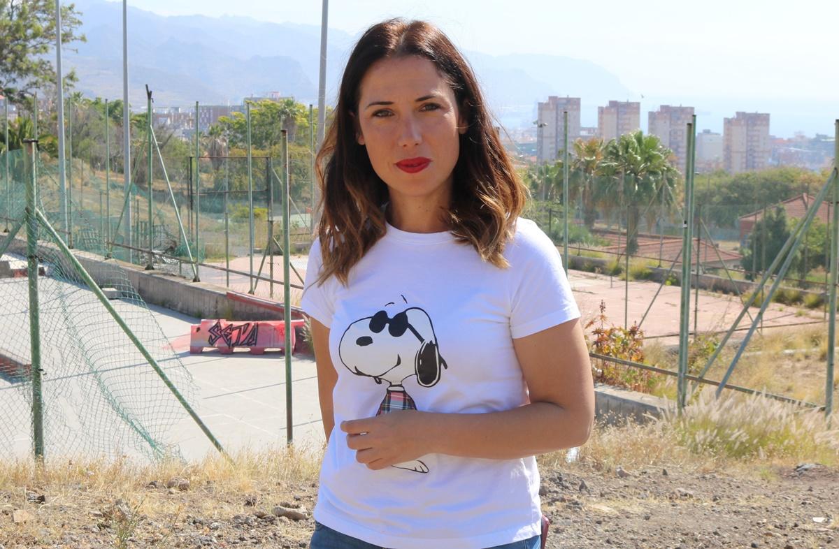 La candidata socialista a la Alcaldía de Santa Cruz, Patricia Hernández. DA