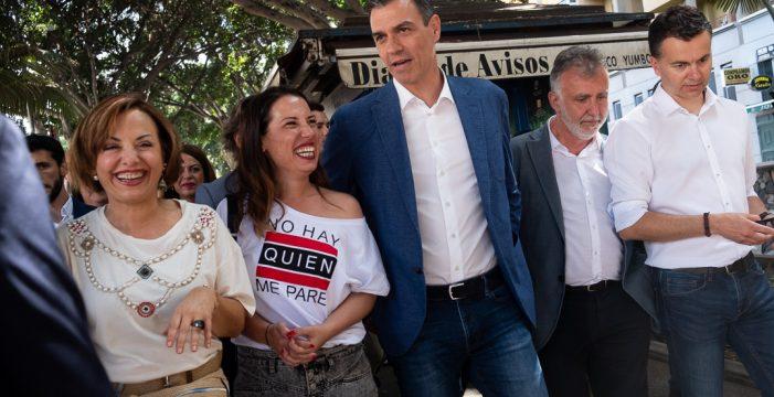 Pedro Sánchez elige Ofra para resaltar el compromiso socialista con Canarias