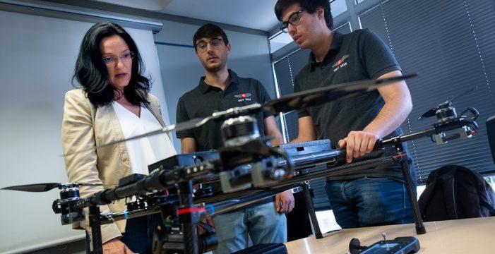 La unidad de drones de Santa Cruz amplía sus servicios  con un tercer dispositivo