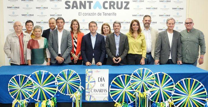 Santa Cruz festeja el Día de Canarias con más de 50 actos
