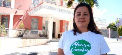"""Holi Díaz: """"Un transporte público gratuito acabaría con las colas en la autopista"""""""