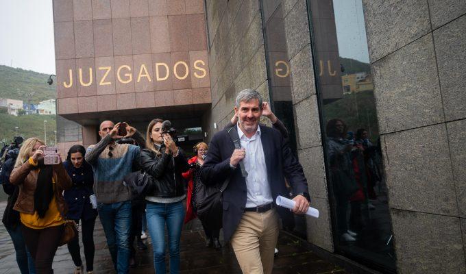Clavijo solicita al Ayuntamiento de La Laguna que pague los 55.000 euros de su abogado en el caso Grúas