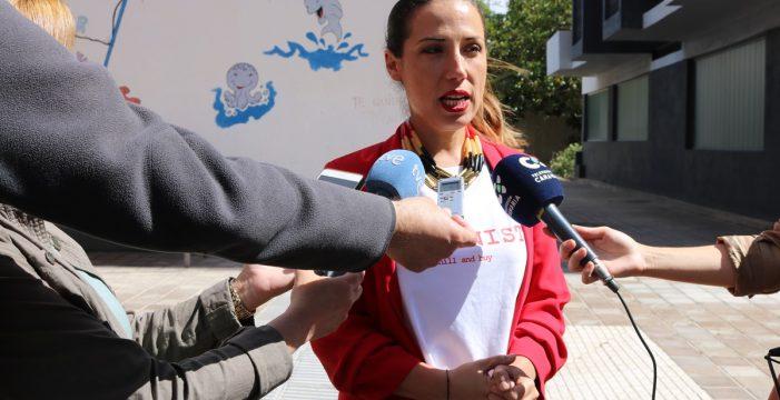 Patricia Hernández promete duplicar plazas de guardería