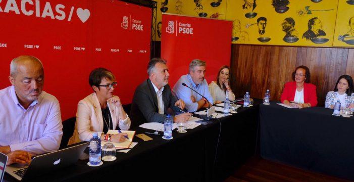 El PSOE inicia el lunes la ronda de contactos para un pacto en Canarias