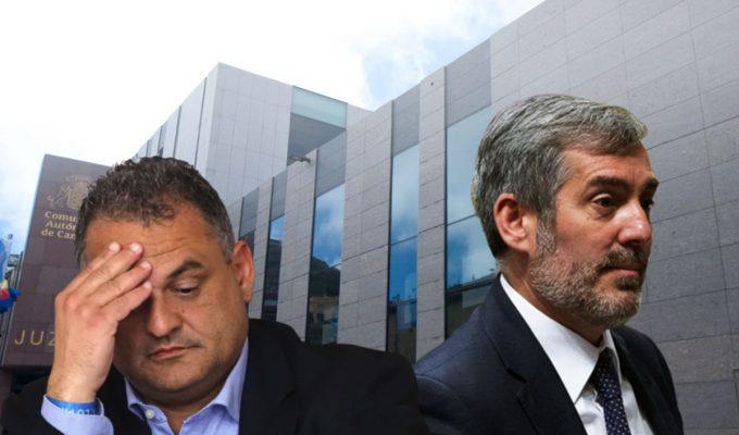 El caso Grúas se complica para Clavijo y José Alberto Díaz