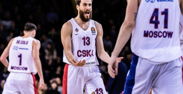 El CSKA del 'chacho' Sergio Rodríguez conquista su octava Copa de Europa