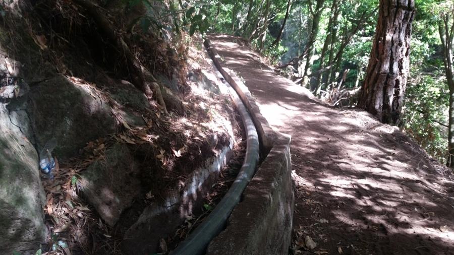 Una de las obra de mayor inversión la del sifón de la galería hidráulica entre Las Nieves y el Canal Intermunicipal. | DA