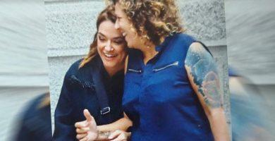 La presentadora Toñi Moreno afronta su embarazo junto a Rosana