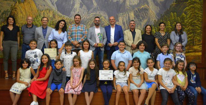 El CEIP José Luis Albendea gana el concurso 'La Palma Recicla'
