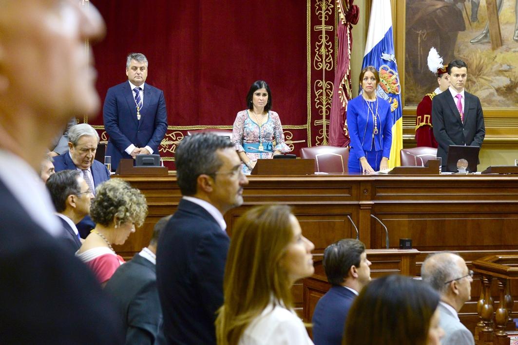 Solemne apertura de la novena legislatura, el 1 de julio de 2015. / SERGIO MÉNDEZ