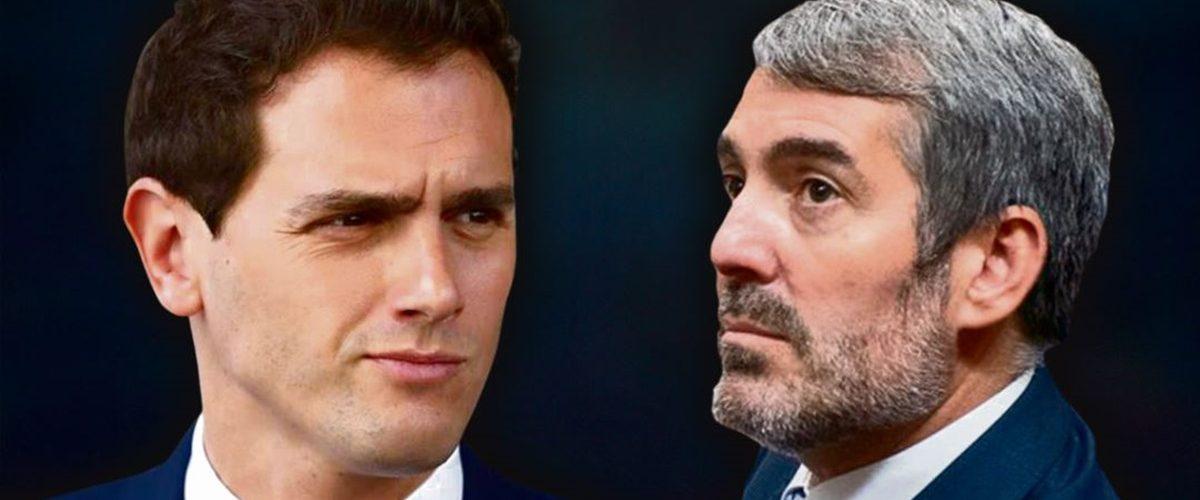 Clavijo suplica a Cs que haga la vista gorda y lo apoye como presidente