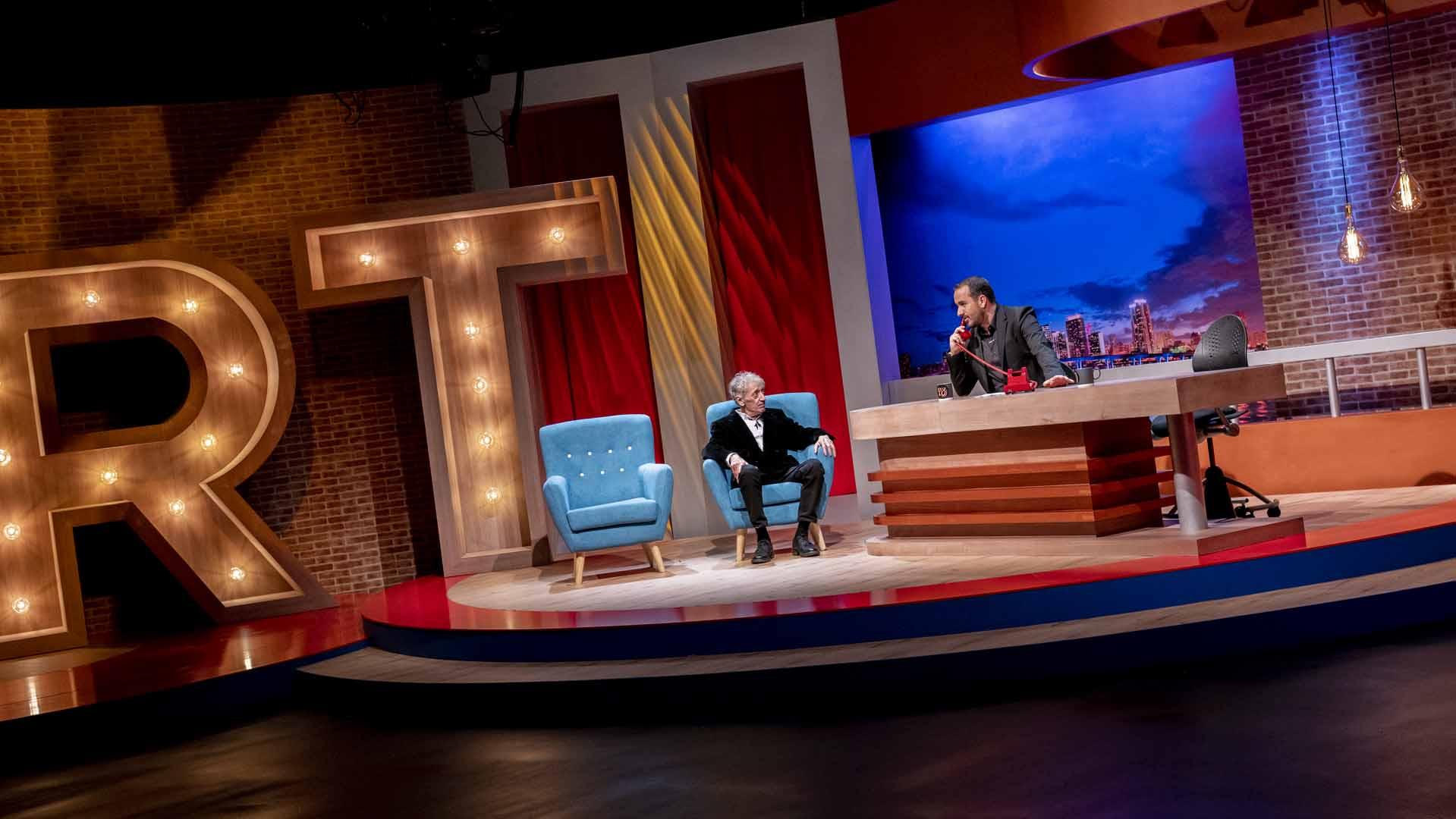 Kike San Francisco en Ríete Tú durante su entrevista con Raúl García / Juan Carlos Pérez