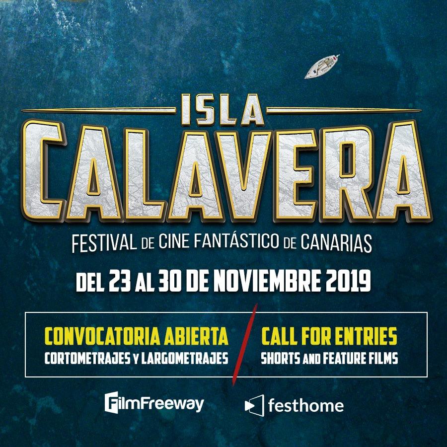 El Festival de Cine Fantástico Isla Calavera abre convocatoria para su edición 2019.