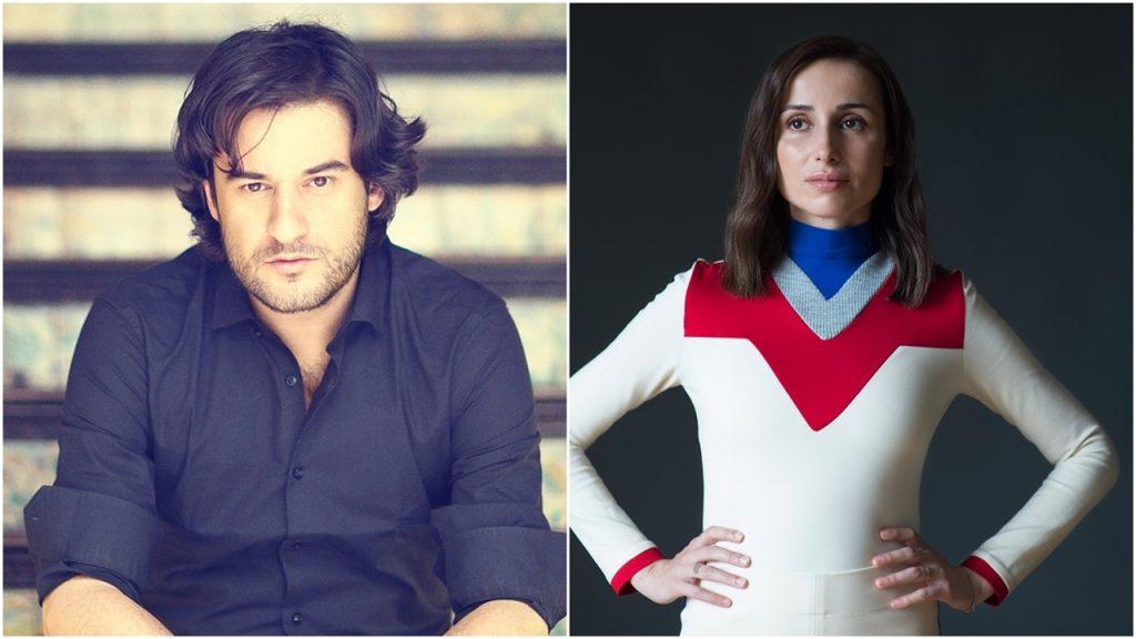 El periodista y escritor Manuel Jabois y la cantante y compositora Zahara. | DA