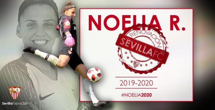 La tinerfeña Noelia Ramos renueva por el Sevilla FC