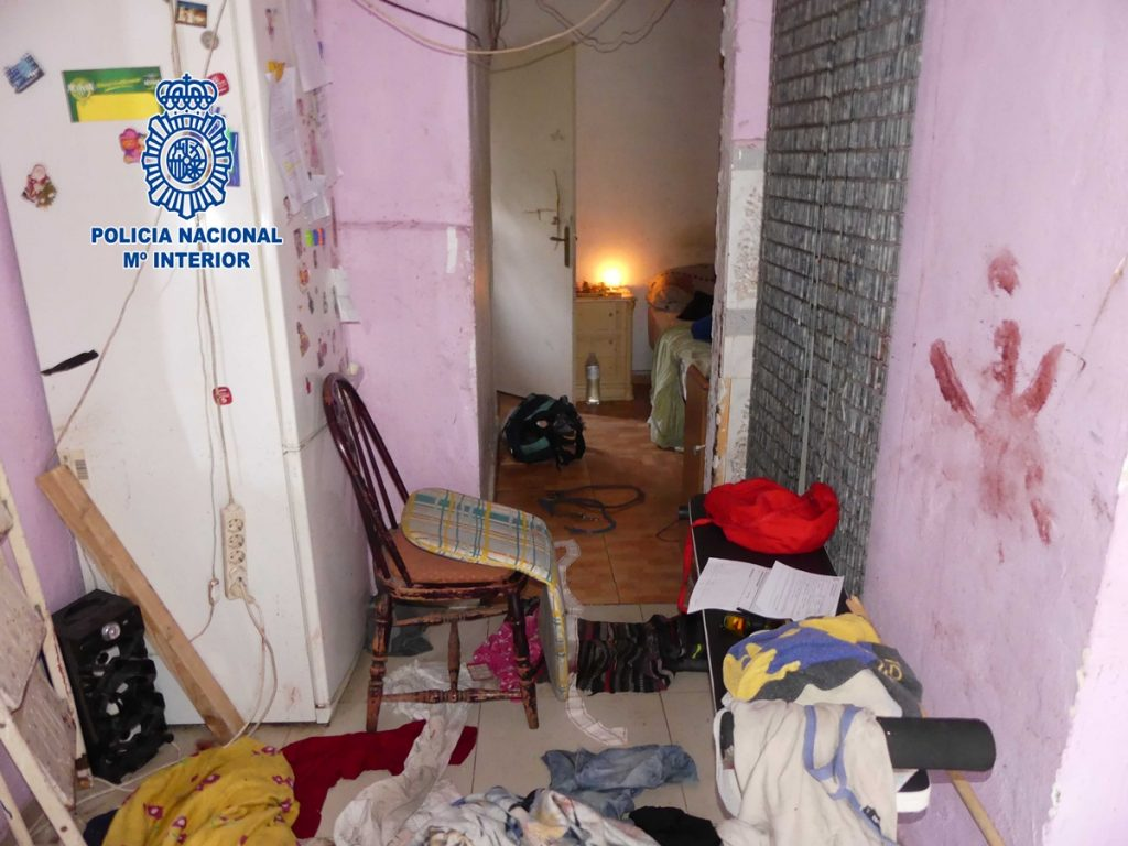 La Policía Nacional difundió fotos de la vivienda en la que ocurrieron los hechos| DA