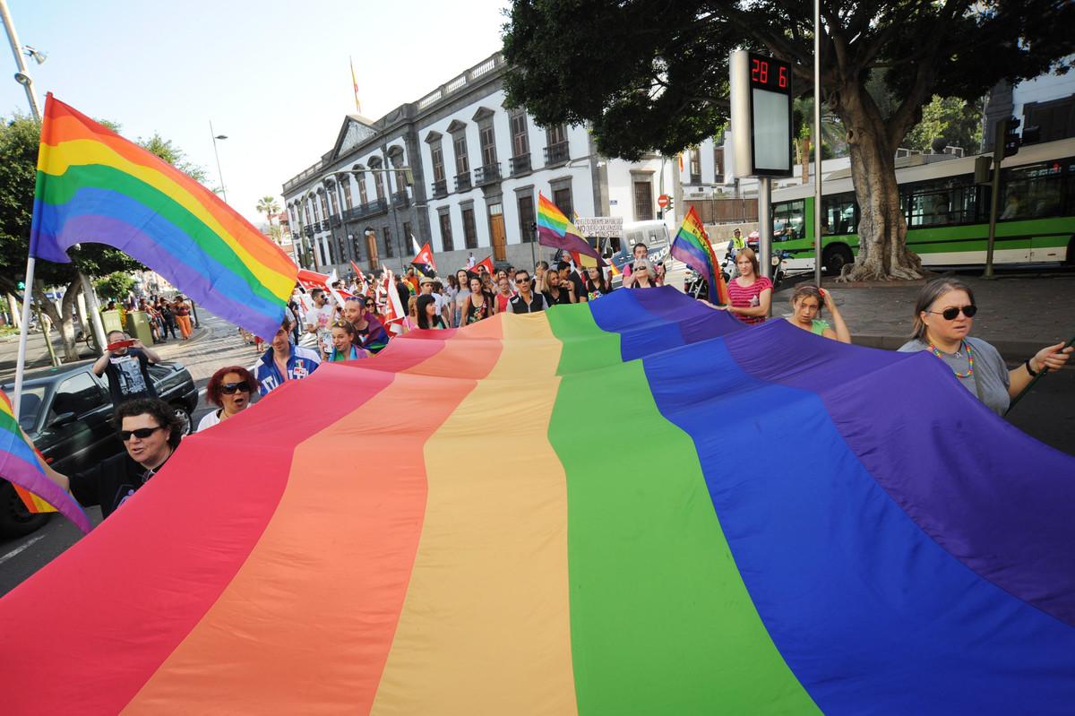 dia del orgullo gay las palmas