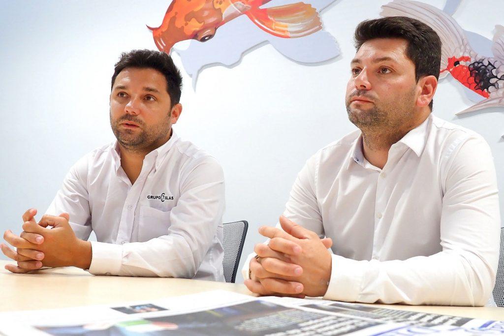 Rafael Artemi y Belfir Ayoze, gerentes y propietarios del Grupo 7 Islas