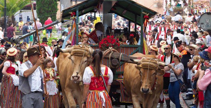 La Orotava reúne a 25.000 personas en la 'madre' de todas las romerías