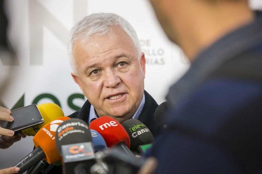 Carmelo Ramírez,  secretario de organización de Nueva Canarias